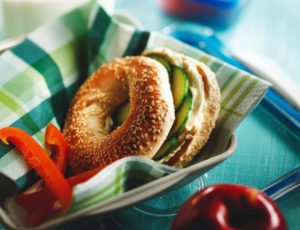Maple Cucumber Bagels