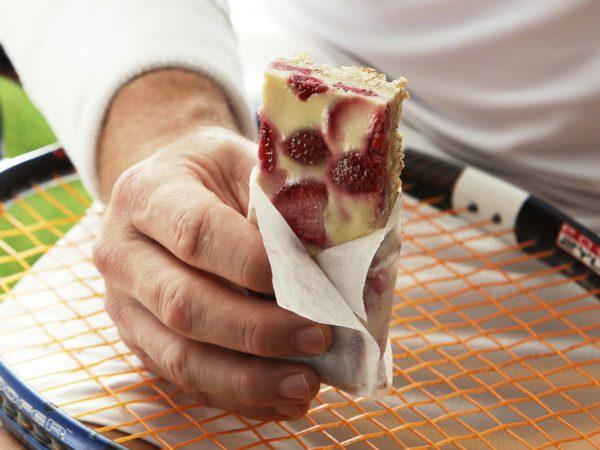 Recipe — Strawberry and Maple Granola Bars