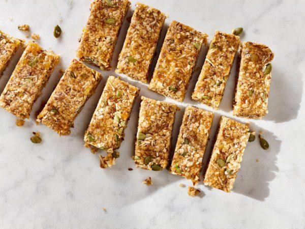 Recipe — No-Bake Soft Granola Bars