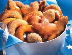 Maple Syrup Doughnuts