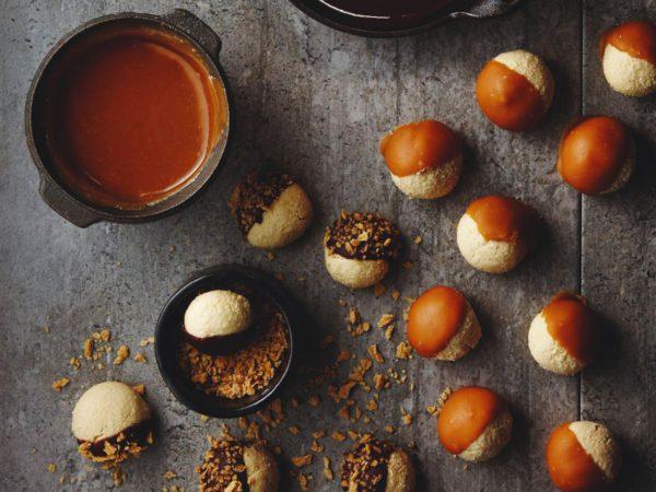 Recipe — Almond Maple truffles