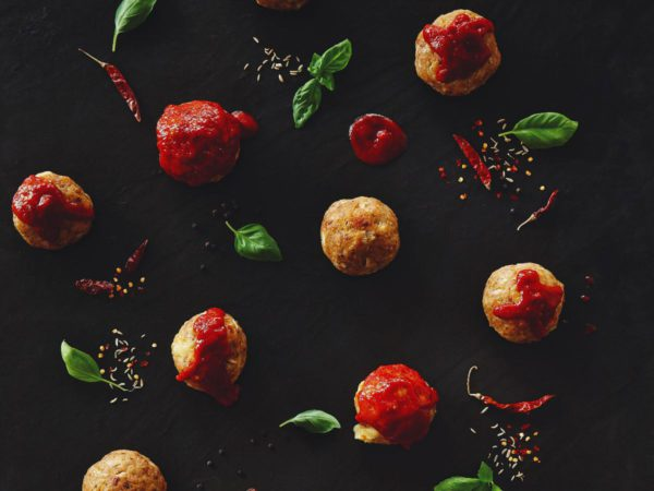 Recipe — Maple Turkey Meatballs Stuffed with Cheese