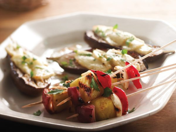 Recipe — Fennel and Pineapple Skewers with Maple