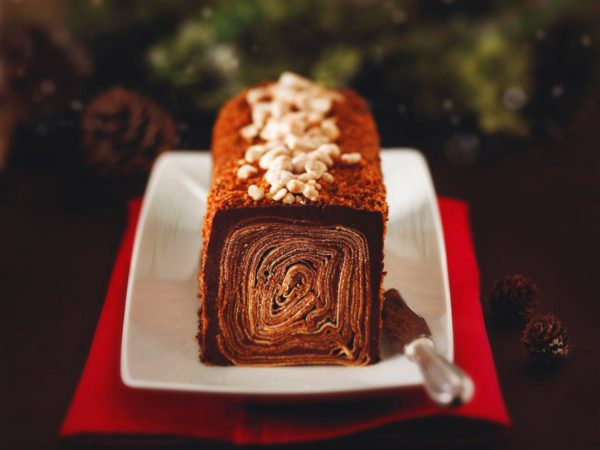 Recipe — Choco-Maple Log