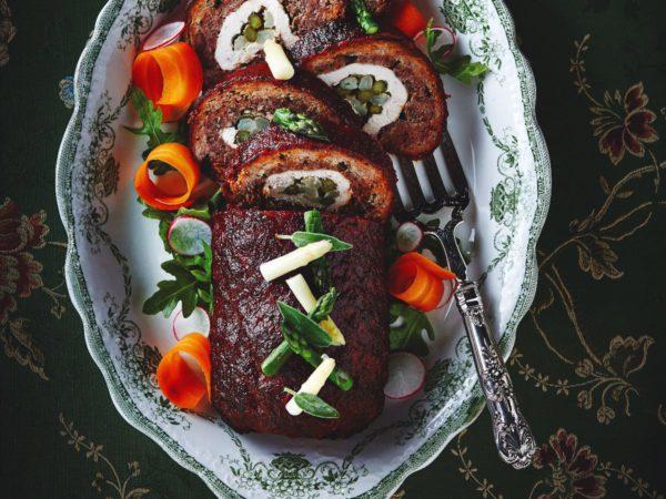 Recipe — Maple Meatloaf Log
