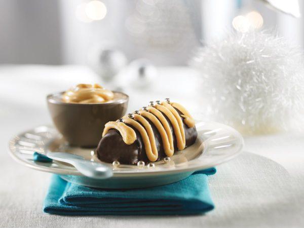 Recipe — Chocolate and Maple Mini Log Rolls