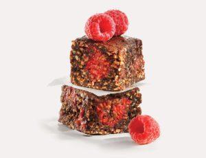 Maple Choco-Raspberry Squares