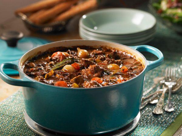 Recipe — Maple-Braised Venison Bourguignon