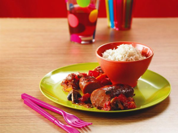 Recipe — Maple Sausage Ragout