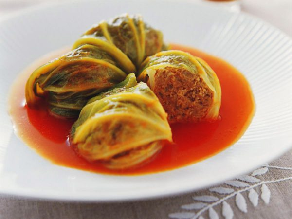 Recipe — Cabbage Rolls with Maple Syrup