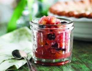 Onion Compote with Dried Fruit and Maple Syrup