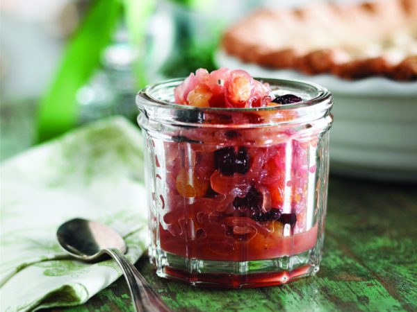 Recipe — Onion Compote with Dried Fruit and Maple Syrup