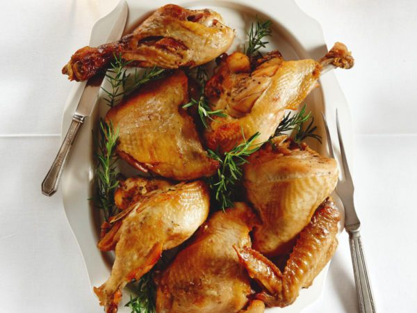 Recipe — Turkey Confit with Maple Sugar