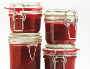 Maple-Raspberry Minute Jam