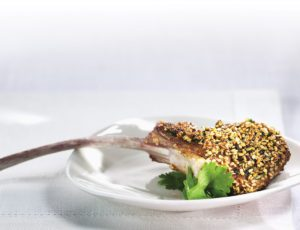 Sesame and Maple Crusted Lamb Steaks