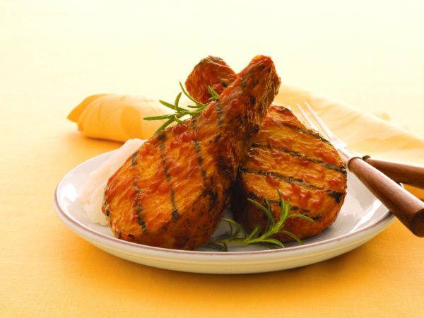 Recipe — Maple Chipotle Grilled Pork Chop