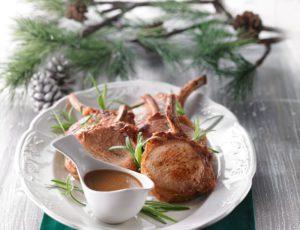Maple-Caramelized Pork Ribs