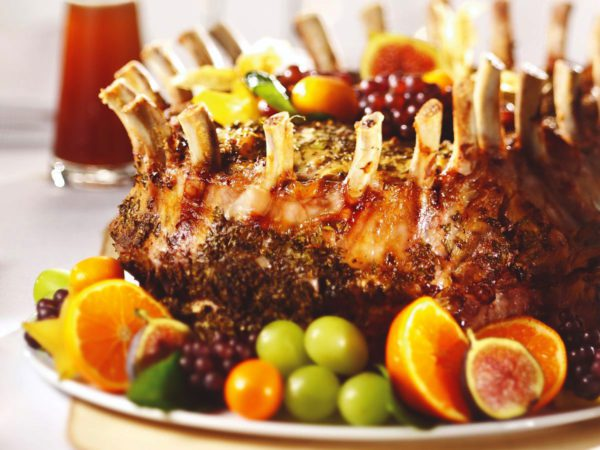 Recipe — Maple and Mustard Pork Crown Roast