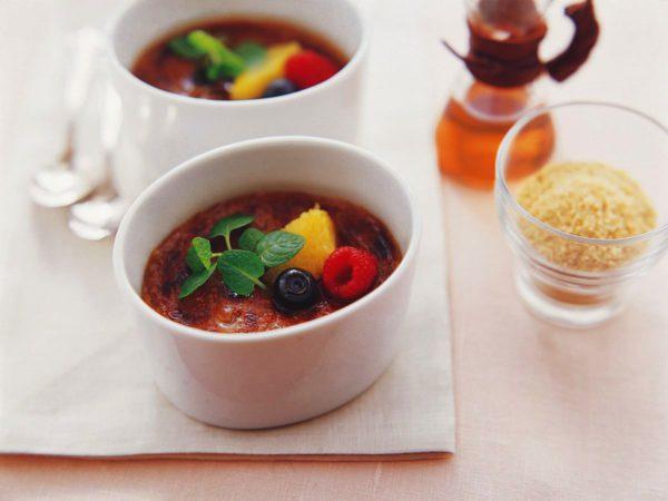 Recipe — Maple Tea Crème Brûlée