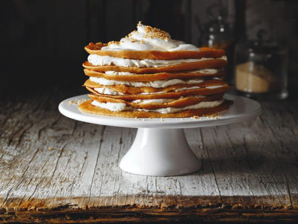 Recipe — Crepes with Carrots and Maple Syrup