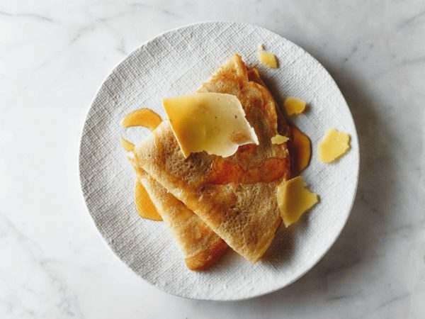 Recipe — Crepes with Pears and Maple Syrup