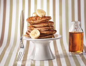 Bananarama Pancakes with Maple