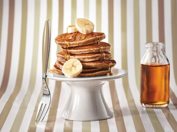 Recipe — Bananarama Pancakes with Maple