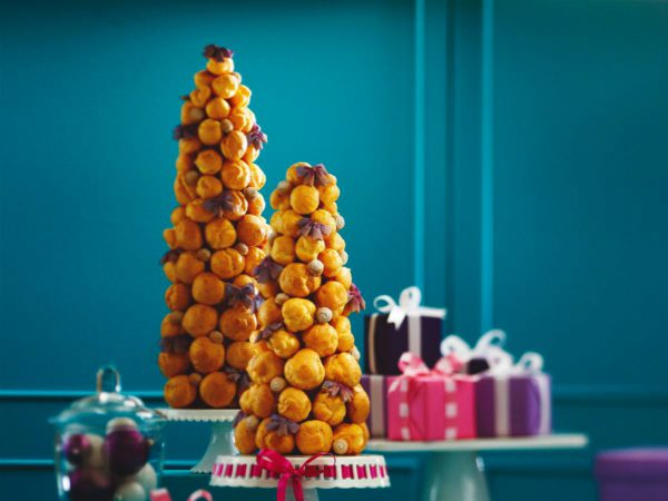 Recipe — Maple Croquembouche