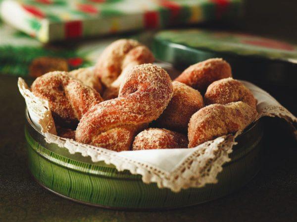 Recipe — Maple Croquignoles (Crisp Twisted Doughnuts)