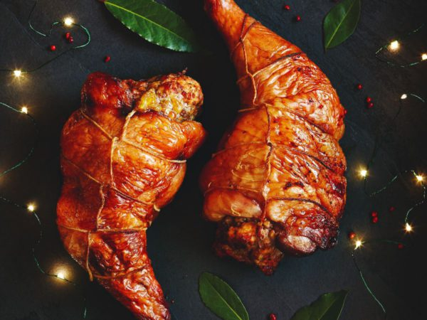 Recipe — Foie Gras and Maple Stuffed Turkey Thighs