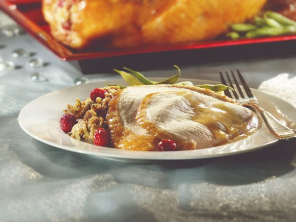 Recipe — Turkey Stuffed with Cranberries and Maple Syrup