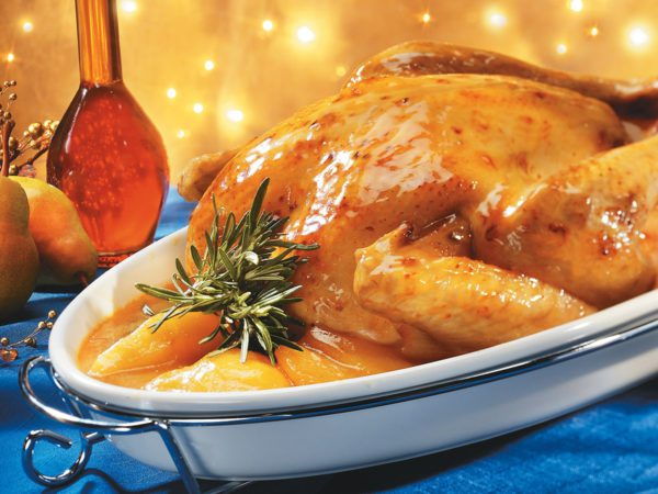 Recipe — Turkey with a Pear and Maple Glaze