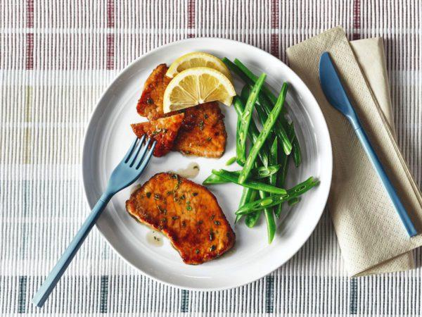 Recipe — Veal Scallops with Maple-Lemon Sauce