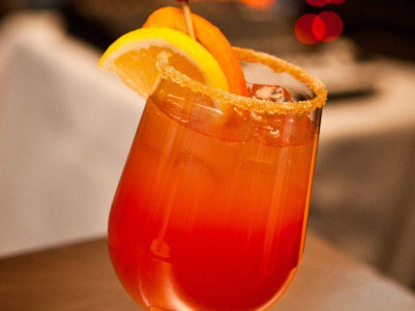 Recipe — Cranberry Maple Sparkler