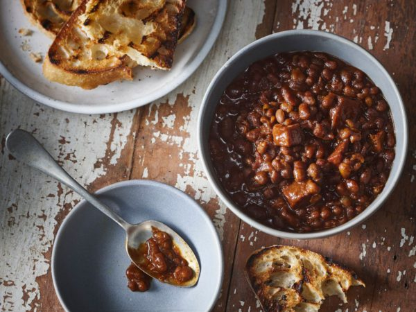 Recipe — Beans with Bacon and Maple Syrup