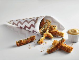 Maple Zucchini Fries