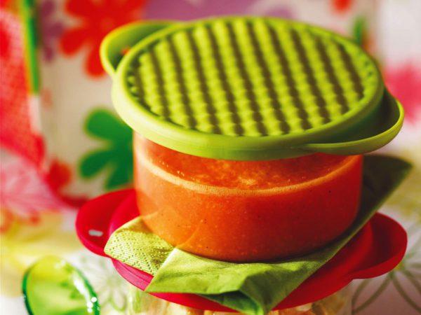 Recipe — Maple Orange Gazpacho