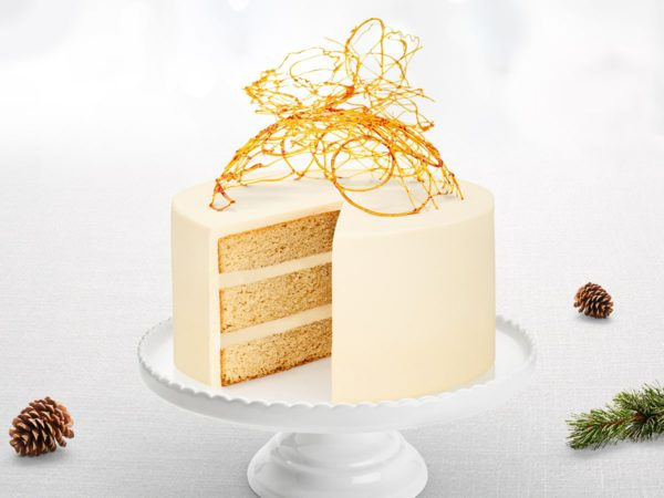 Recipe — Mascarpone Maple Cake
