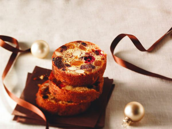 Recipe — Moist Fruit, Nut and Maple Cake