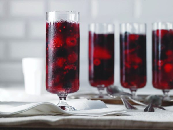 Recipe — Maple Water Gelatin with Mixed Berries