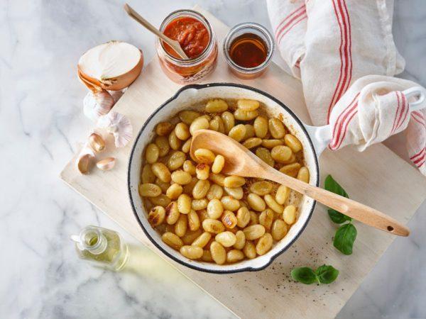 Recipe — Maple Caramelized Gnocchi with Tomato Sauce