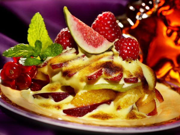 Recipe — Maple Gratin Fruits