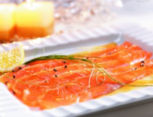 Maple Salmon Gravlax