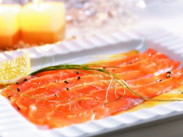 Recipe — Salmon Gravlax with Maple Sugar