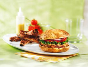 Maple-flavoured Turkey Hamburgers