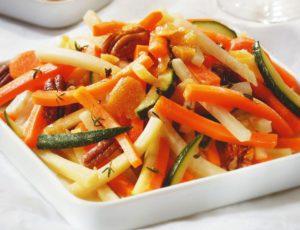 Maple-Caramelized Vegetables
