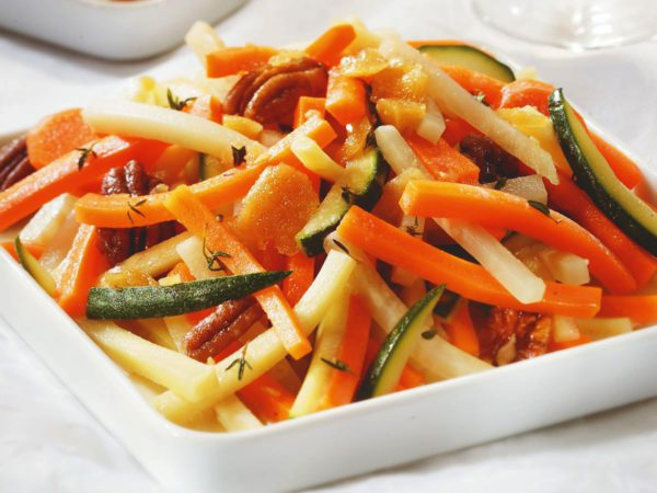 Recipe — Maple Caramelized Vegetables