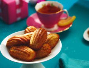 Orange and Maple Madeleines