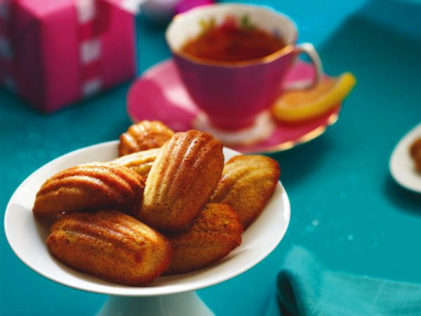 Recipe — Orange and Maple Madeleines