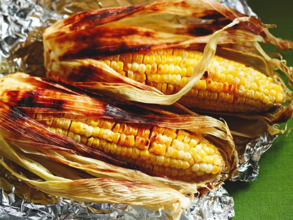 Recipe — Maple Grilled Corn